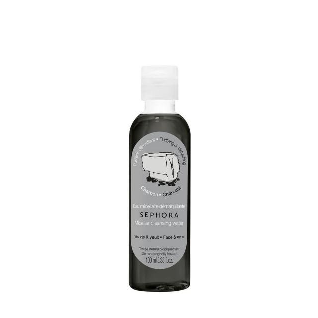 丝芙兰炭黑卸妆洁颜水100毫升
