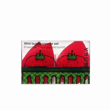 丝芙兰草莓化妆海绵套组
