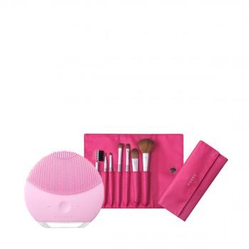 露娜迷你2净透洁面仪 (粉红色)套装