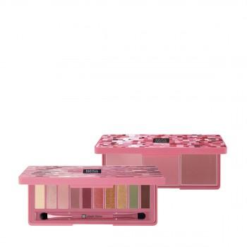 瑪麗黛佳色彩工作室干玫瑰眼影盤+頰彩盤惠選套裝