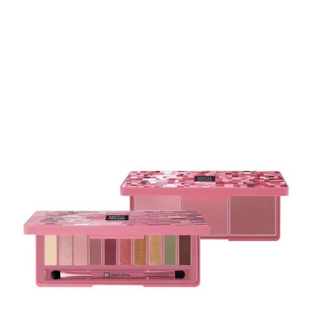 玛丽黛佳色彩工作室干玫瑰眼影盘+颊彩盘惠选套装