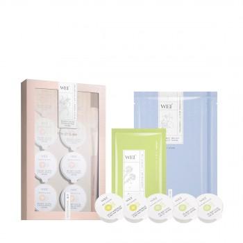 蔚蓝之美双重亮肤糖面膜元气保湿惠选套组