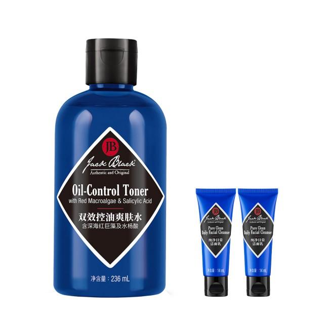 JACK BLACK雙效控油爽膚水惠選套組