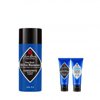 JACK BLACK无油保湿润肤乳惠选套组