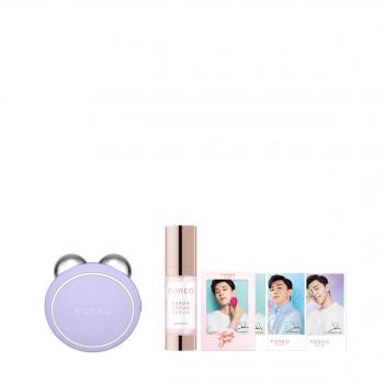 BEAR™ mini智能微电流美容仪薰衣草紫套装