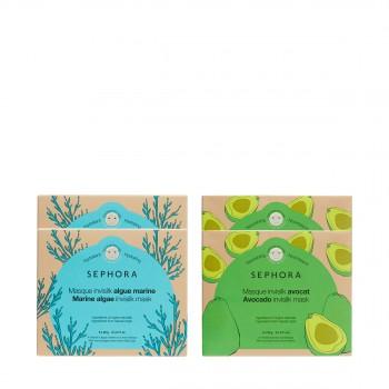 """丝芙兰第三代牛油果海藻蚕丝面膜4盒惠选套装(""""小海牛"""")"""